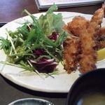 食楽 栞 - 料理写真:食楽 栞 ミックスフライ御膳