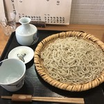 蕎麦処 なが田 - ざる大盛り990円!