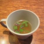 幸正 - スープ(コンソメ?)