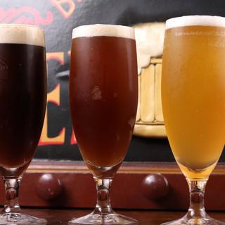 銀座のビール醸造所*オーナーが毎日手作りする自家製ビール