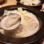 串焼き・野菜巻き工房 ひょーげもん - 特製鶏白湯の炊き餃子
