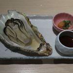 日本酒スローフード 方舟 - 能登牡蠣美酒蒸し