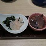 日本酒スローフード 方舟 - 北陸伝統珍味二種盛り合わせ