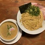 頑固麺 -  鰹香る 王道魚介白湯つけ麺(1日15食限定) 1,100円