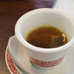 中国旬菜 茶馬燕 - 涼伴藏茶(チベットティーのスープ雲南ジノー族からヒントを得て)