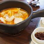 中国旬菜 茶馬燕 - 苗族酸湯魚(貴州苗族の発酵トマト鍋)