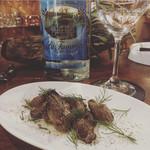 BAR RUMHEAD - 自家製 燻製 牡蠣のオイル漬け