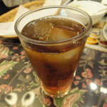 マラバール - Aカレーセットの烏龍茶