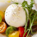 S Spiral - ブッラータチーズ・井出トマト農園のトマト