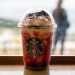 スターバックス・コーヒー - ドリンク写真:2019.10 ハロウィン レッドナイト フラペチーノ(649円)