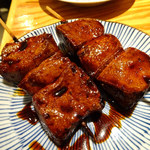 小江戸 - 料理写真:レバー一皿二本220円
