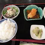Kitashinchikyouka - 麻婆豆腐セット \1000