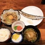 118646148 - 秋刀魚塩焼き定食  870円