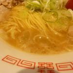 118652075 - 麺とスープ