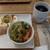 ブン カフェ×エ プロント - 料理写真:[料理] モーニングC & Hot珈琲 (ブレンド) セット 全景♪W