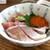 階段ノ上ノ食堂 - 海鮮ちらし丼。