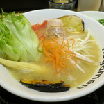 麺菜 Regamen - 濃厚鶏塩白湯ラーメン1,050円