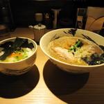 麺屋 みちしるべ - 卵かけご飯 200円/中華そば 680円