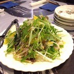 かりんここりんこ - サラダのようなハマチのカルパッチョ
