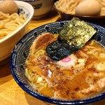 くり山 - つけ半チャーシュー(麺大盛)