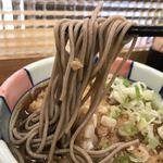 ナカジマ会館 - 天ぷらそば@390円