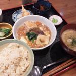 レストラン食茶房むうぷ - 日替わり自然定食より「肉豆腐」750円