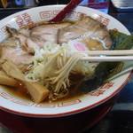 ラーメン サカモト - チャーシュー中華(麺リフト)