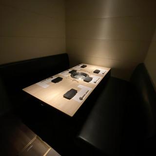 全席個室!プライベートな空間でゆっくりとお楽しみください。