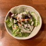 SUNAO - カシミルセット(キーマ、ほうれん草チキン) ¥900 のサラダ