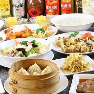ご予算で選べる《コース》!上海食苑の全てをお得に楽しめます