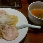 RAMEN 風見鶏 - 風見鶏つけ麺(味玉)