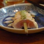 串若 - さび焼きを一つ食べたところ