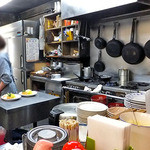 キッチンV - オープンキッチンになっています