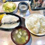 キッチンV - ポークソテー & ライス(大盛り)