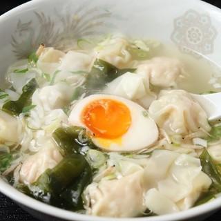 蝦ワンタンスープ