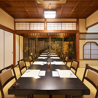 日本庭園を眺めながら、素敵な時間をお過ごしください。貸切可能