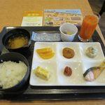 横浜桜木町ワシントンホテル - いつもと変わらない朝食