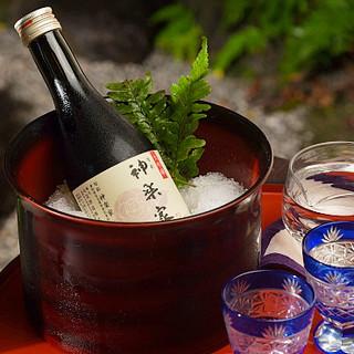 愛知県の地酒や時季の銘酒、フリードリンクプランもございます