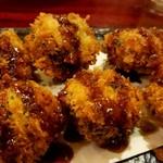 酒菜食彩 七福 - 椎茸の肉詰め