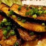 酒菜食彩 七福 - なすの生姜醤油