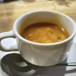 パステリア フローリッシュ - ミネストローネスープ・・軽くトマトの酸味を感じますが、優しい味わい。