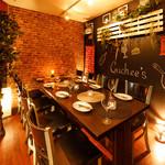 厳選肉と熟成チーズのプライベート空間 肉バル Guchee's - 内観写真: