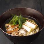 大江ノ郷製麺所 - 料理写真:鹿野地鶏南蛮うどん【期間限定】