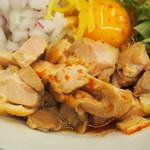 ふく流ラパス 分家 ワダチ - 特製チキンジャンキー(鶏モモ肉)