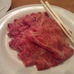 まんぷく亭 - A5という牛肉