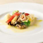 ブラッスリー・シェ・アキ - 白つぶ貝の白ワイン煮