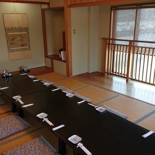 人気の和室はお座敷のためゆったり座っていただけます。