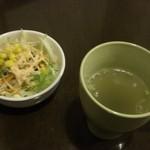 Kitchen D.Factory  - セットのサラダとスープ