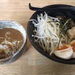 らーめん大地 - つけ麺 みそ(790円)