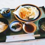 118726707 - 天ぷら定食   本日のランチ